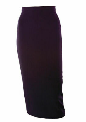 House of Foxy 1950s Style Perfect Pencil Skirt Size 16 in Black