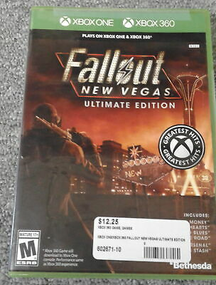 Fallout New Vegas: Ultimate Edition - Xbox One Games