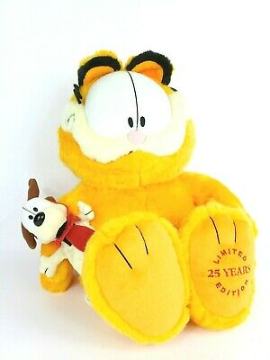 46688fe0a158f GARFIELD PLUSH 25TH Anniversary Macy's Limited Edition Odie 18 ...