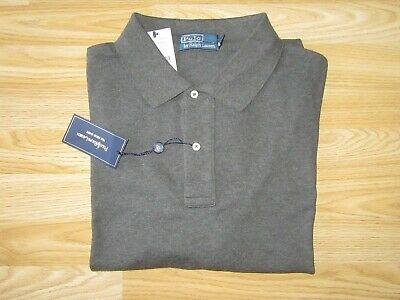 NEW BNWT Mens POLO RALPH LAUREN Grey Short Sleeve T-Shirt Top 2XB Big with tags