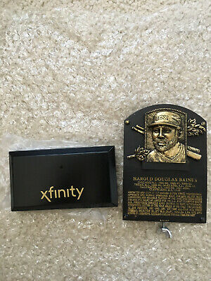 Harold Baines Chicago White Sox Hall of Fame Replica Plaque promotional giveaway