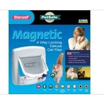 Petsafe Staywell Deluxe Magnetic Small Dog / Cat Door (TR504)