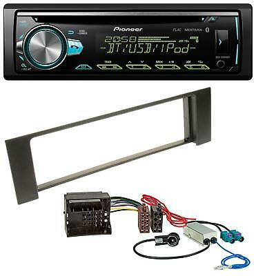 Pioneer AUX MP3 USB CD Bluetooth Autoradio für Audi A4 B6 00-04 Quadlock Doppel