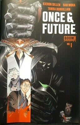 ONCE AND FUTURE #1 Boom First Print Hot New Comic Book Kieron Gillen Sold Out
