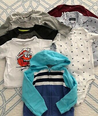 Lot of 8 pieces Baby Boy Clothes Size 18 Month, Very Gently Used