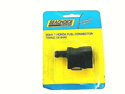 """Honda BF5-BF8A Up to 2001 Fuel 1//4/"""" Connector 17650-921-003ZB Seachoice 20441 LC"""