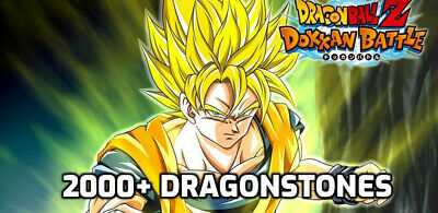 🌟Dokkan Battle JAPAN 2400+ Stones! IOS INSTANT DELIVERY