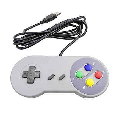 2X SUPER NINTENDO SNES USB Controller GAME PAD For PC