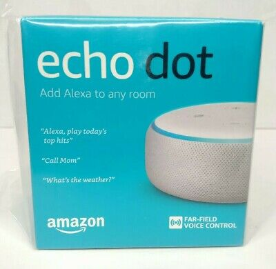 NEW Amazon Echo Dot (Latest 3rd Gen) Smart Speaker w/ Alexa (Sandstone) FREE S&H