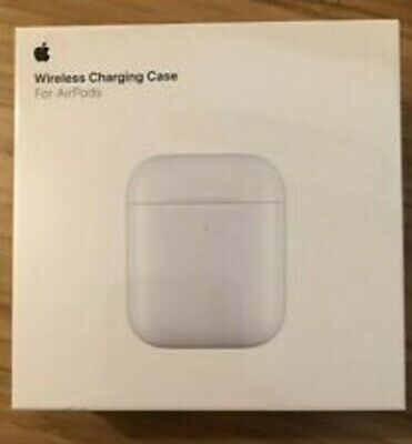 NEW 2019 Apple AirPods 1 & 2 Wireless Charging Case 1st Gen 2nd Gen Qi Charge