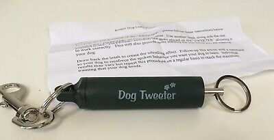Pet Parade Dog Tweeter Training Aid Leash Trainer Whistle Sound All Breeds Sizes