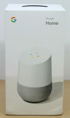 Google Home Smart Assistant - White Slate (US) - Brand New