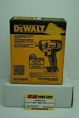 DEWALT MAX DCF880B Cordless  Impact Wrench 20V 1/2 in. Tool Only