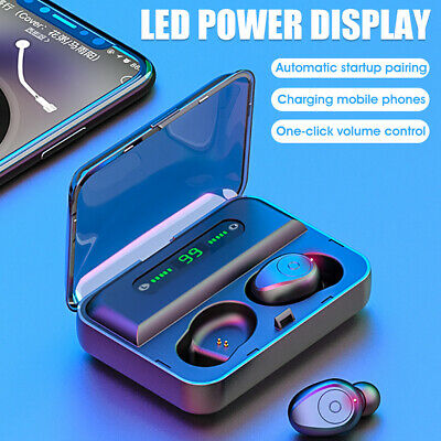 TWS bluetooth 5.0 Wireless Earphones Earbuds For iphone 6/7/8/XS/XR For Samsung