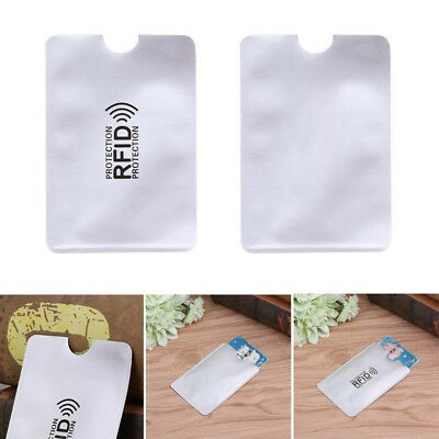 10 Card RFID Blocking Contactless Debit Credit Card Protector Sleeve Wallet IC1C