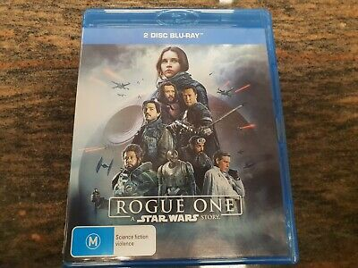 Rogue One A Star Wars Story Blu Ray DVD