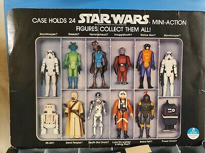 Vintage Starwars 1977 Rare First Edition Kit Bash Collectors Case