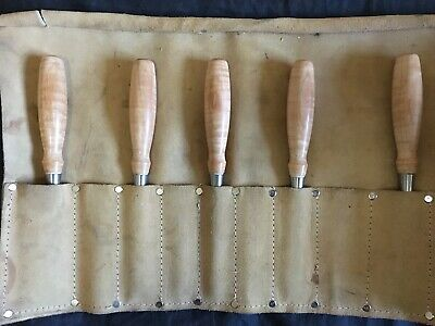 Collectable Blue Spruce woodworking chisels