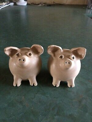 Cathy Day Pig Salt and Pepper Shakers