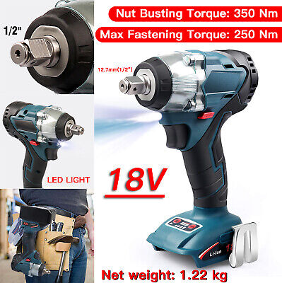 "Makita DTW285Z 18V Cordless Brushless Lithium-Ion 1/2"" Impact Wrench Skin Only"