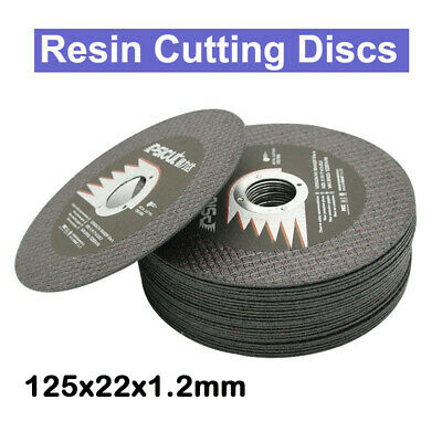 """1/5/10pcs 5""""125mm Resin Cutting Disc Cut Off Wheel Blade For Angle Grinder Tools"""