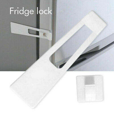 Fridge Freezer Lock Baby Kids Child Toddlers Door Cabinet Safety Protection Home