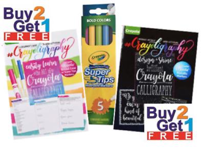 Crayola Crayligraphy Mix & Match for BIG Savings! Calligraphy Hand Lettering