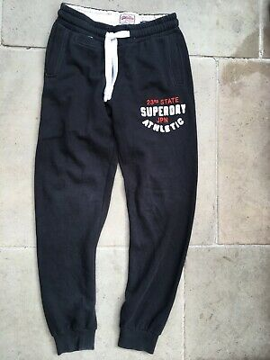 Superdry Mens Small W30-34 L32 Jogging Bottoms Slim Joggers Tracksuit Trousers