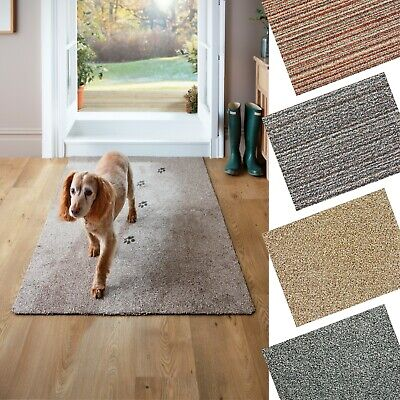 Dirt Trapper Door Mat Anti-Slip Runner Small, Medium, Rectangular