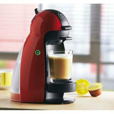 NESCAFE Dolce Gusto Piccolo Coffee Machine by Krups - Red KP1006/10