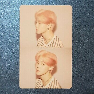 Jimin - Official Photocard BTS Map Of The Soul : Persona Genuine Kpop
