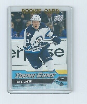 Patrik Laine Young Guns 2016-17 Upper Deck Series 2 Hockey Rookie Card #451
