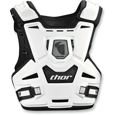 Thor 2020 YOUTH Sentinel MX Motocross Chest Guard Armour - White/Black