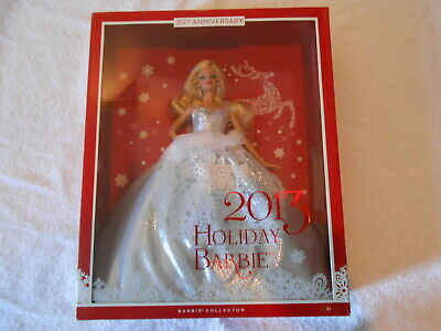 2013 25th Anniversary Holiday Barbie - NIB - Excellent Condition
