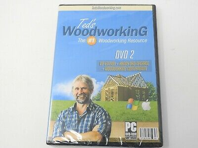 Ted's Woodworking DVD 2 VIP Edition (PC DVD-Rom Software) Ships in 12 hours!!!
