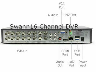 SWANN SWDVR-84100 DVR8-4100 8 Channel 960H Digital Video
