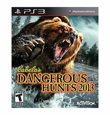 Cabela's Dangerous Hunts 2013 - Playstation 3