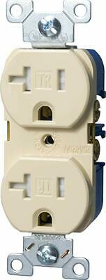 Cooper Wiring Devices TRBR20A-BXSP 20A-125V 2-Pole Duplex Receptacle, Almond