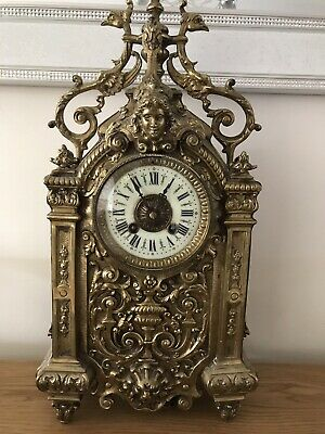 French Gothic Mantle Clock
