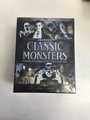 Universal Classic Monsters: Complete 30-Film Collection (Blu-ray Disc, 2018) NEW