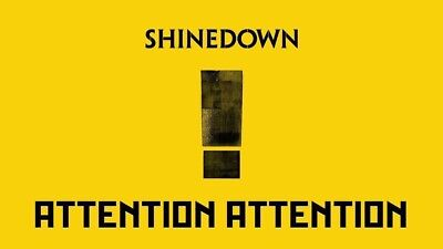 Shinedown : Attention Attention [New CD] 2018