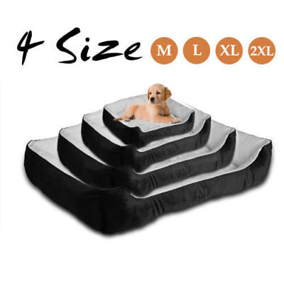 Oversized soft wool waterproof pet dog * cat bed basket nest pad can be washed