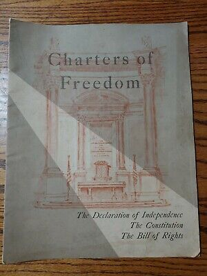 Charters Of Freedom Declaration Of Independence  Constitution & Bill Of rights
