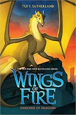 Darkness of Dragons (Wings of Fire, Book 10) by Tui T. Sutherland HARDCOVER 2017
