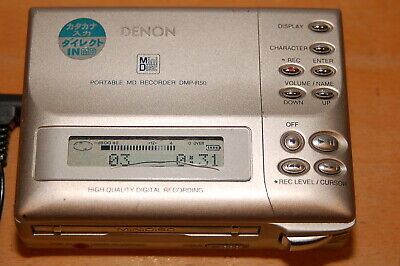Denon DMP-R50 MiniDisc Recorder / Player Portable minidisc MD (A)