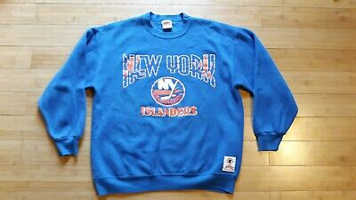 size 40 9feb4 8b2bb NHL NEW YORK NY Islanders Fisherman's Starter Jersey XL ...
