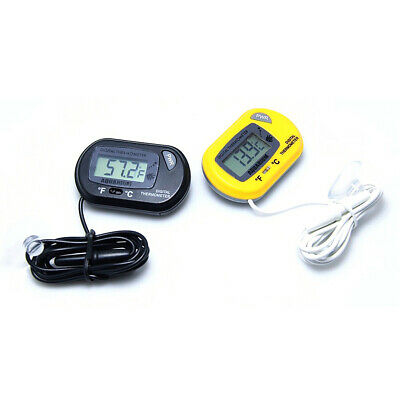 LCD Digital Fish Tank Aquarium Thermometer Submersible Water Temperature Meter