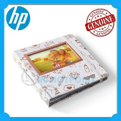 HP Sprocket Gold & White Photo Album [2HS31A] Limited Edition
