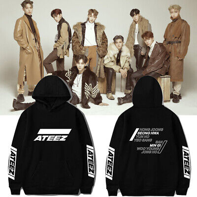 Kpop ATEEZ ATINY One To All Zero To One All To Zero Hoodie Sweater Pullover Coat