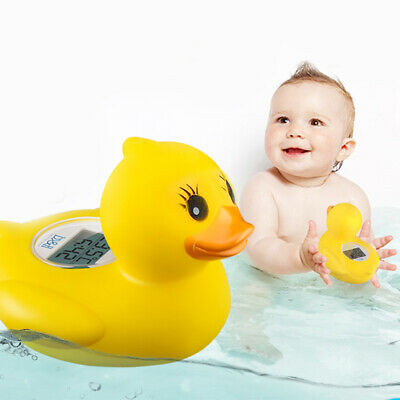 Cute Water Temperature Tester Baby Duck Digital Thermometer Bath Floating Toy UK